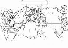 Malvorlagen Gratis Hochzeitspaar Kostenlose Malvorlage Hochzeit Und Liebe Hochzeitspaar