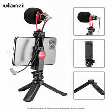 Ulanzi Mini Smartphone Tripod Portable Phone by Ulanzi Smartphone Kit 1 With Mini Desktop Tripod