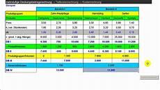 mehrstufige deckungsbeitragsrechnung teilkostenrechnung