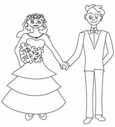 Nici Malvorlagen Wedding Brautpaar Zum Ausmalen