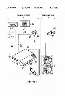 patent us5785393 electronic trailer brake controller with pendulum zero adjust patents