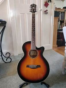 Ibanez Electro Acoustic Guitar With Built In Tuner In