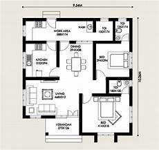 kerala model house plans free 2 bedroom budget home for 16 lakhs with free plan free