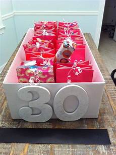 30 presents for the 30 days before a 30th birthday