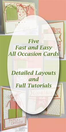 robins craft room all occasion card tutorials robinscraftroom com