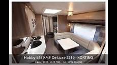 hobby 545 kmf hobby 545 kmf de luxe 2219 korting