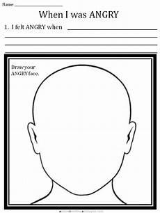 cbt children s emotion worksheet series 7 worksheets for dealing with anger