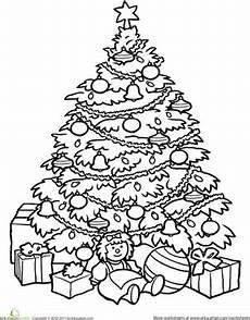 tree worksheet education