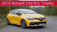 Fahrbericht Renault Clio R S 220 Edc Trophy