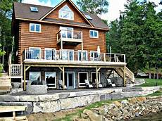 rental cottage luxury lakeside cottage kawartha kinmount cottage