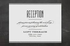 reception only wedding invitations that won t make your