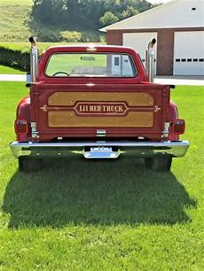 1978 1979 dodge d150 6ft 1978 dodge d150 lil red express pick up truck lil little red express classic dodge other