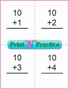 free printable math flash cards addition 10792 50 addition worksheets for kindergarten and grade