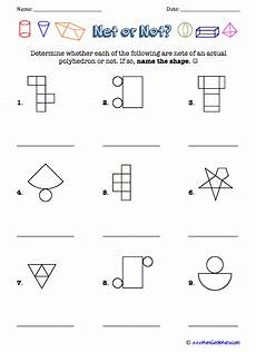 geometry nets worksheets 823 pin auf maths