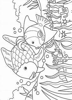 regenbogenfisch ausmalbilder malvorlagen 100 kostenlos