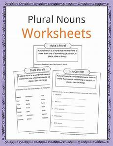plural nouns facts worksheets exles definition for kids