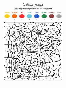 colour by numbers fantasma en el bosque