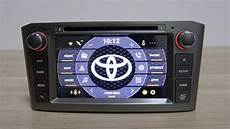 android 8 0 car dvd for toyota avensis t25 auto stereo