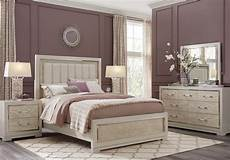 cindy crawford home bel air ivory 5 pc queen panel bedroom