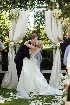 wedding arch diy outdoors wedding drapery ceremony pinterest