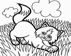 Malvorlage Katze Einfach Ausmalbilder Katzen 6 Ausmalbilder