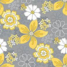 flower wallpaper grey yellow and grey wallpaper wallpapersafari