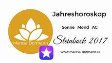 Steinbock Jahreshoroskop 2017 Leichtigkeit Und Neue