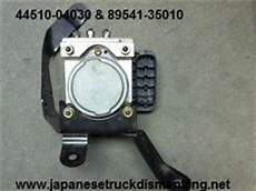 repair anti lock braking 2001 toyota tacoma spare parts catalogs 2003 2004 toyota tacoma abs module pump 44510 04030