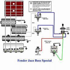 jazz bass special wiring diagram bass guitar bass guitar pickups fender jazz bass