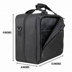 Shoulder Sling Storage Protective Carry Travel by Projector Bag With Padded Storage Compartments Shoulder