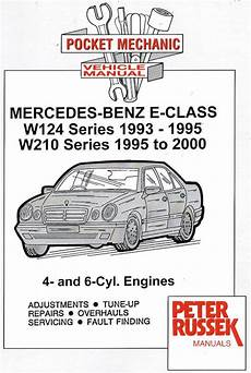 motor repair manual 2004 mercedes benz e class lane departure warning 1993 2000 mercedes benz e class w124 series 1993 1995