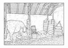 coloring page barn free printable coloring pages