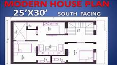 25 x30 south facing house plan ll as per vastu house plan