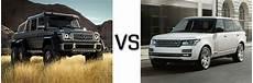 2015 g class vs land rover range rover