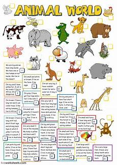 animal worksheets grade 2 13869 animal world interactive worksheet