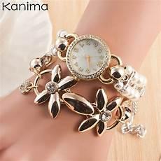 aliexpress com buy pearl bracelet wrist watch