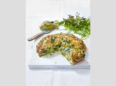 pea and spinach frittata_image