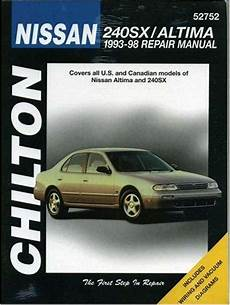 book repair manual 1993 nissan 240sx parental controls nissan 240sx altima 1993 1998 chilton owners service repair manual 0801989701