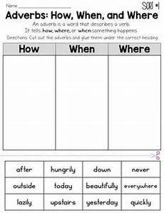 adjective and adverb sorting freebie from more than math by mo teaching grammar 2nd grade