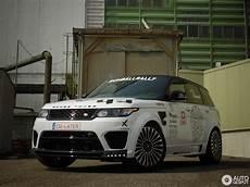 Land Rover Mansory Range Rover Sport Svr 20 June 2016