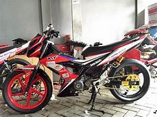 Motor Sonic Modifikasi by Modifikasi Honda Sonic 150r Terbaru