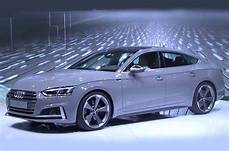 audi a5 2017 sportback 2017 audi a5 sportback and s5 sportback shown at