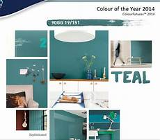 dulux paint color of the year 2014 teal trending paint