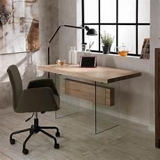 Schreibtisch Modern Design - eettafel bureau modern design in glas en mdf ivo