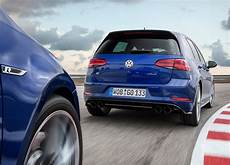 key differences volkswagen golf r 2017 7 0 7 5 cars