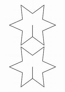 sterne basteln mit kindern 3d basteln inkl