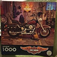 Harley Davidson Puzzles 1000 Pieces by Vintage Springbok By Hallmark 1000 Harley Davidson