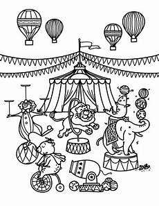 Malvorlagen Zirkus 48 Best Coloring Pages Images On