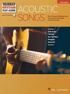 Acoustic Songs By Various Softcover Audio Sheet