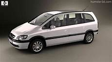 opel zafira a 2000 by 3d model store humster3d
